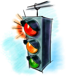 Traffic Light Cartoon