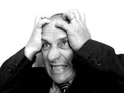 Frustrated Businessman 250w