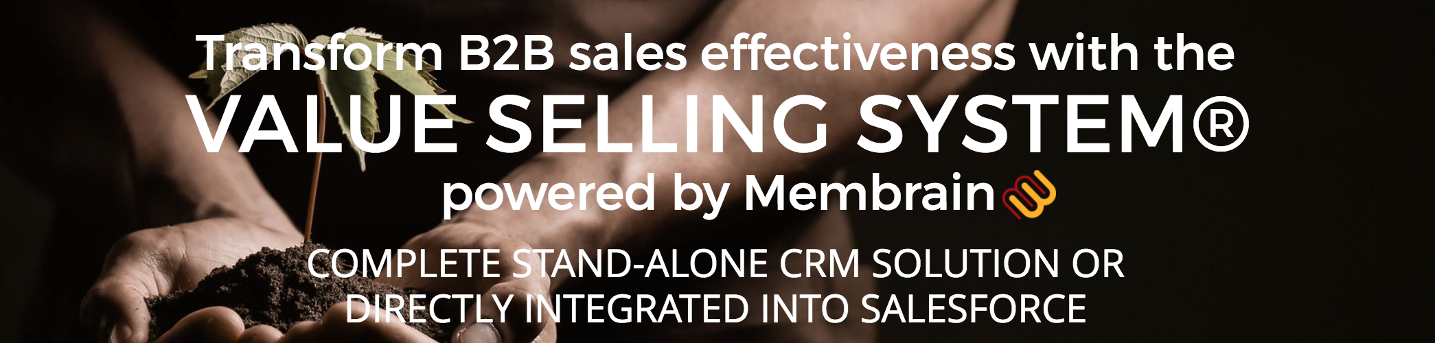 Value Selling System powered by Membrain