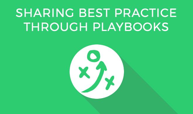 Sharing Best Practice Through Sales Playbooks