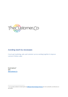 CustomerCo White Paper