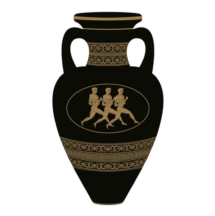 Greek Vase Run Right