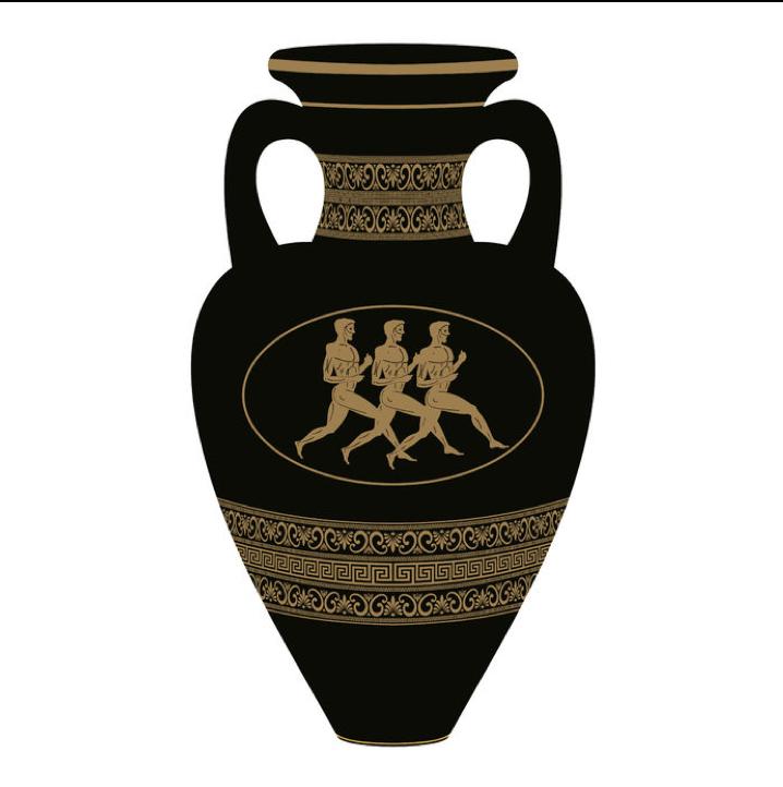 Greek Vase Run Right