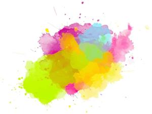 Ink Splash Trimmed