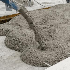 Pouring Concrete Square