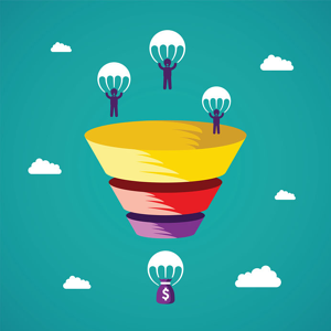 Sales Funnel Parachutes