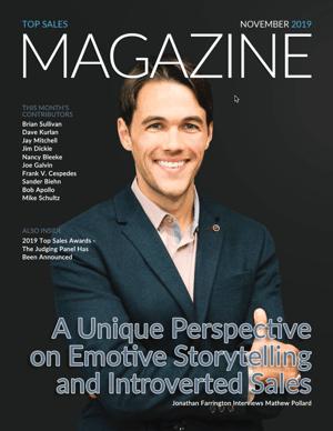 TSW Magazine Nov 19 Cover