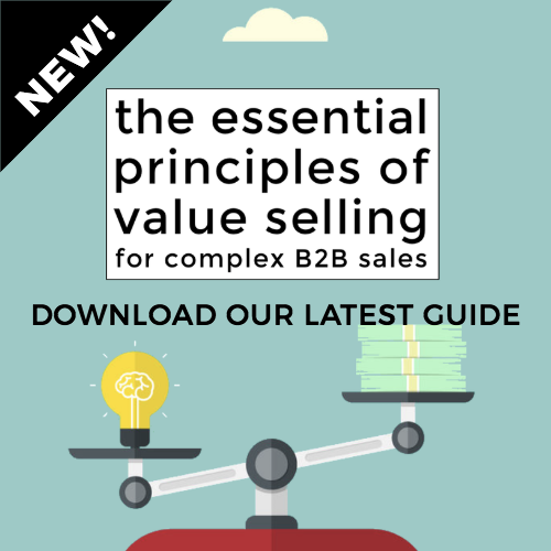 The Essential Principles of Value Selling